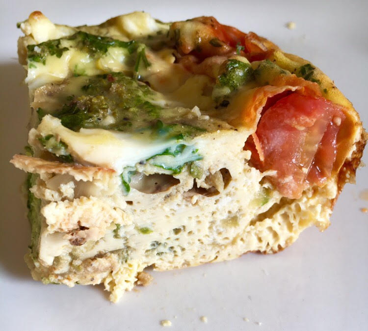 easy make ahead breakfast frittata